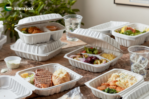 Eco hingled lid lunch boxes