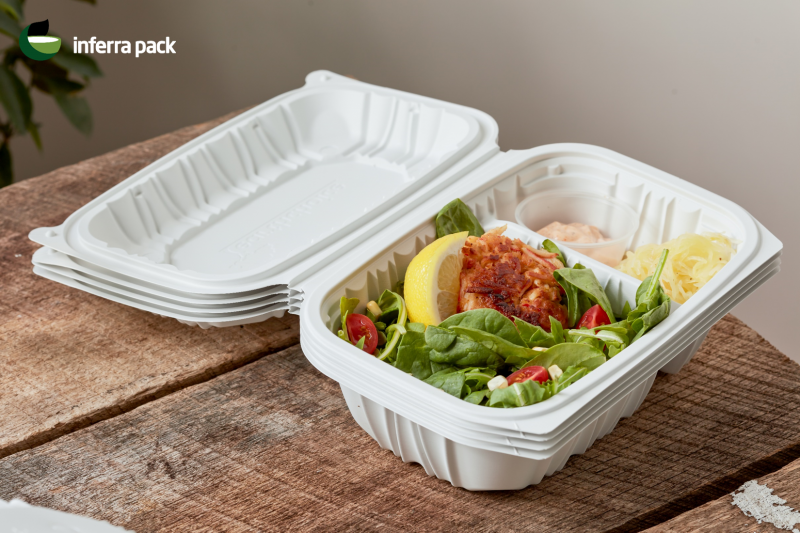 Disposable containers for food Eco