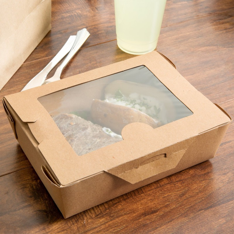 бумажные контрейнеры для еды Take away
