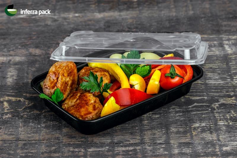 контейнер пищевой одноразовый для доставки еды и упаковка Take Away