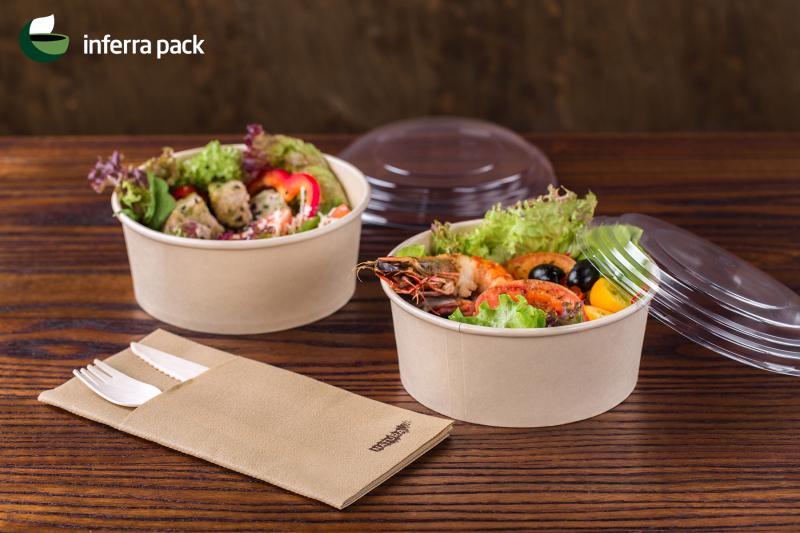 эко контейнеры из бамбука для салатов и столовые эко приборы