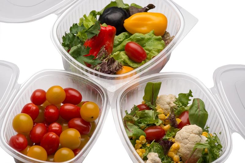 Одноразовые контейнеры для кулинарии и гастрономии, упаковка для салатов и холодных блюд