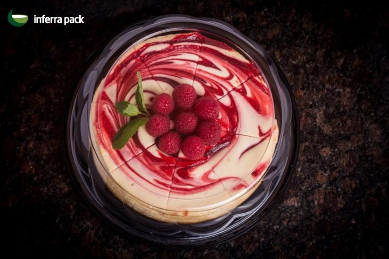 упаковка для круглых тортов